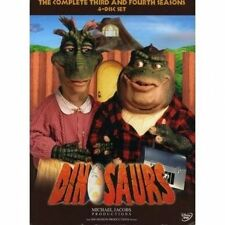 Dinosaurs The Complete Third & Fourth Seasons - DVD Region 1 Shi