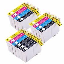 14 Tintas T0715 non oem Stylus SX515W SX600FW SX610FW T0711 T0712 T0713 T0714