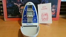 Nelsonic Space Attacker Game Watch, taken apart, cleaned, works, sound, box.