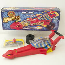 MUMMIES ALIVE: HOT RA KENNER VEHICLE COMPLETE -  MINT WITH OPEN BOX