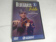 learning Bluegrass Fiddle #1 - DVD - Violin