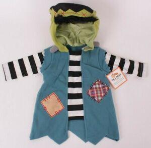 Pottery Barn Kids Baby Frankenstein costume 0-6 months 3 mos Halloween monster