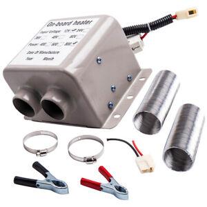 12V 800W Heater Heating Defroster Demister Deicer Windsheild 2 Air Outlet Holes