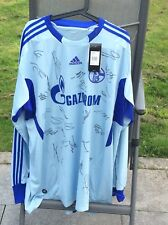 Adidas FC Schalke 04 Trikot Gr. XXXL mit Unterschriften Saison 2010/2011 Neu