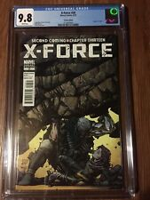 X-Force #28 CGC 9.8 David Finch Variant Cover 1:25 Death of Cable Marvel 2010 NM