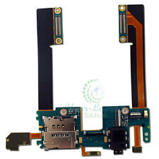 For HTC Droid DNA Butterfly OEM Headphone Jack SIM Slot Holder Power Flex Cable