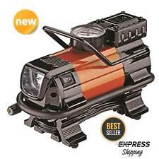 HEAVY DUTY Portable Air Compressor For Car Tire Pump Inflator Auto Shut Off 12V