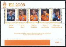 PERSOONLIJKE POSTZEGELS KNVB E.K. VOETBAL 2008 - 4 VELLETJES POSTFRIS