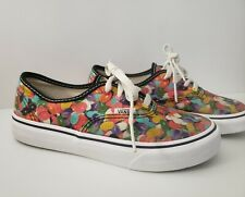 Jelly Bean Vans Low Top Skater Tennis Shoes - womens size 5 - RARE