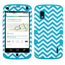 LG Nexus 4 Google Phone E960 Hybrid T Armor Hard Case Skin Cover