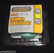Outdoor Factory Parts Trimmer Air Filter Kit 966-738301 For Craftsman & Weed Eat