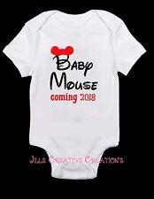 Disney Shirt, Mickey Mouse, Pregnancy announcement, birth announcement