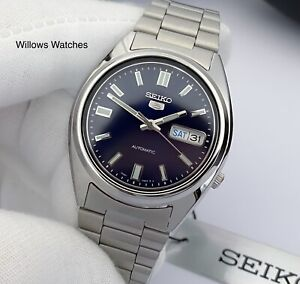 Seiko 5 Men's Automatic Stainless Steel Watch SNXS77K Brand New - UK Seller