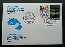Luxembourg  European Capital Of Culture 2007  2007 Alphabet Deer (FDC) *recess