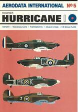 AERODATA INTERNATIONAL 5 HAWKER HURRICANE Mk.I WW2 RAF FIGHTER BATTLE OF BRITAIN