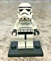 Genuine LEGO Minifigure - Star Wars - Stormtrooper, Black Head - sw0188