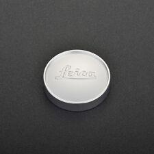 Leica E43 Front Metal Lens Cap Silver for 50mm f/1.4 Summilux Lens E43 version