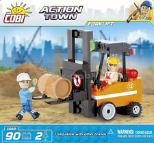 Cobi Blocks  Action Town. Forklift -- Building Set (1668)..NEW