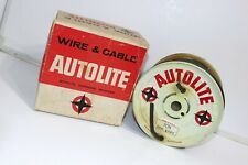 1965 NOS Autolite 7CN 7MM Shelby Mustang Fairlane Metal Spool w Wire Falcon SAAC