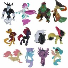 12Pcs Upgrade My Little Pony Horse Cake Toppers Action Figure Toys Xmas Gifts