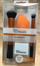 REAL TECHNIQUES - Makeup Brushes - Ultimate Base Set - NEW