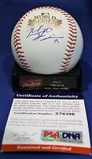 Autographed Matt Harrison 2011 World Series Major League Baseball - PSA COA
