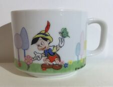 Walt Disney Productions Pinocchio Coffee Tea Cocoa Porcelain Mug Cup (10 Fl Oz)