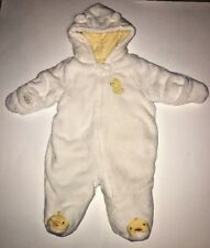 One-piece Soft Little Wonders Jacket Duck Style For Boy Or Girl Size 0-3 Months.