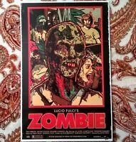 Lucio Fulci's Zombie 11 x 17 Poster 1/20 Print (Free Shipping)