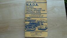 N.A.D.A. Classic, Collectible and Special Interest Car Appraisal Guide 1998