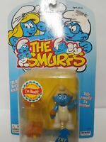 The Smurfs Handy Smurf Poseable Figure