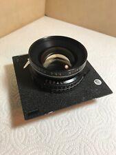 Rodenstock 72° Apo-Sironar-N 210mm F5.6 , Copal-No.1 Excellent Toyo Lens Board