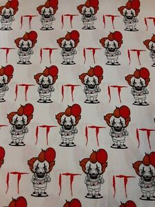 """Pennywise the Clown from """"It"""" Standard Pillowcase"""