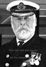Photo: 5x7: Captain EJ Smith In Black Uniform: RMS Titanic