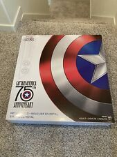 Marvel Legends Hasbro Captain America 75th Anniversary Metal Shield NIB