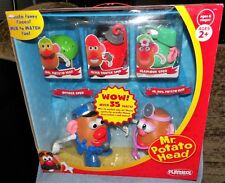 MR. POTATO HEAD DELUXE SET OFFICER SPUD,DR MRS SPUD, GLAMOUR SPUD, FRYER FIGHTER