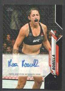 2020 Topps UFC MMA Athlete AUTO Trading Card #UFCA-MRB Mara Romero Borella 28/50