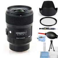Sigma 35mm f/1.4 DG HSM Art Lens for Sony E #340965 STARTER BUNDLE