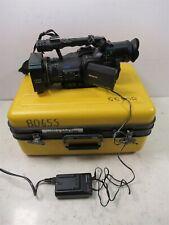 Panasonic AG-DVC80P Digital Video Camera Recorder 143 Hours Leica Dicomar MiniDV