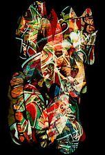 Chuck Henningsen Original Cibachrome Print, Graffit II, San Francisco, 1993