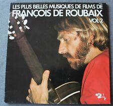 François De Roubaix, les plus belles musiques de films vol 2 , LP - 33 tours