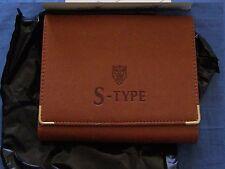Nuovissimo S-Type Jaguar Originale Documenti Portafoglio/cartella per il servizio LIBRO Pack