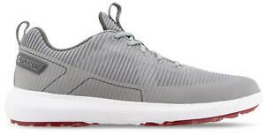 FootJoy FJ Flex XP Golf Shoes 56251 Grey Waterproof Men's New