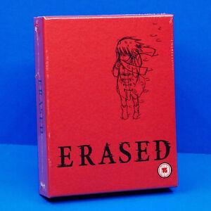 Erased (Boku dake ga Inai Machi) Complete Anime Series Limited Blu-ray Region B