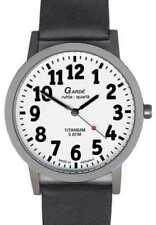 Relojes de pulsera titanio Clásico de cuero