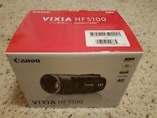 Brand New Canon VIXIA HF S100 HFS100 HD Flash Memory Camcorder 10x Optical Zoom