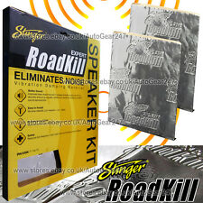 "2 x 10""x 12"" Stinger RoadKill Expert RKXSK Car Sound Proofing Deadening Sheets"
