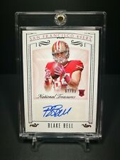 NFL Football Card 2015 Blake Bell Autograph Rookie National Treasures
