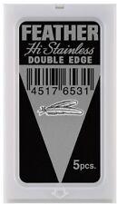 50 Feather Platinum Double Edged Razor Blades