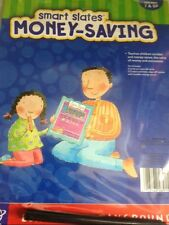 EDUCATIONAL SMART SLATES MONEY-SAVING TEACHES CHILDREN VALUE OF MONEY--NEW ITEM
